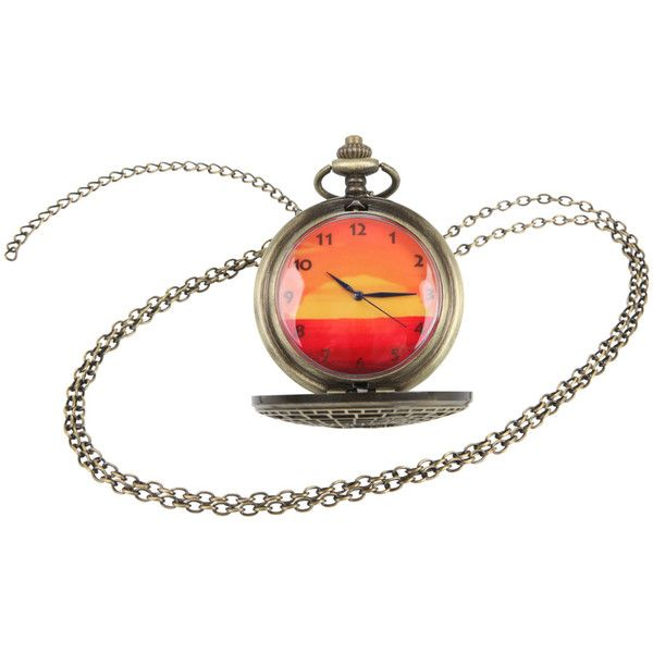 Disney The Lion King Sunset Pocket Watch Necklace 12 liked
