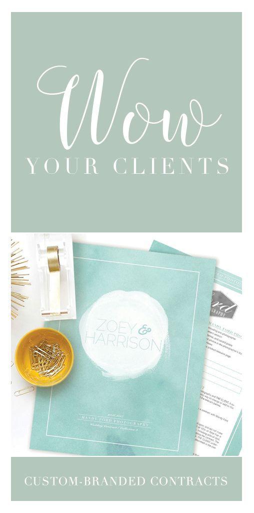 Photography Contract For Weddings  Sea Glass  Wedding