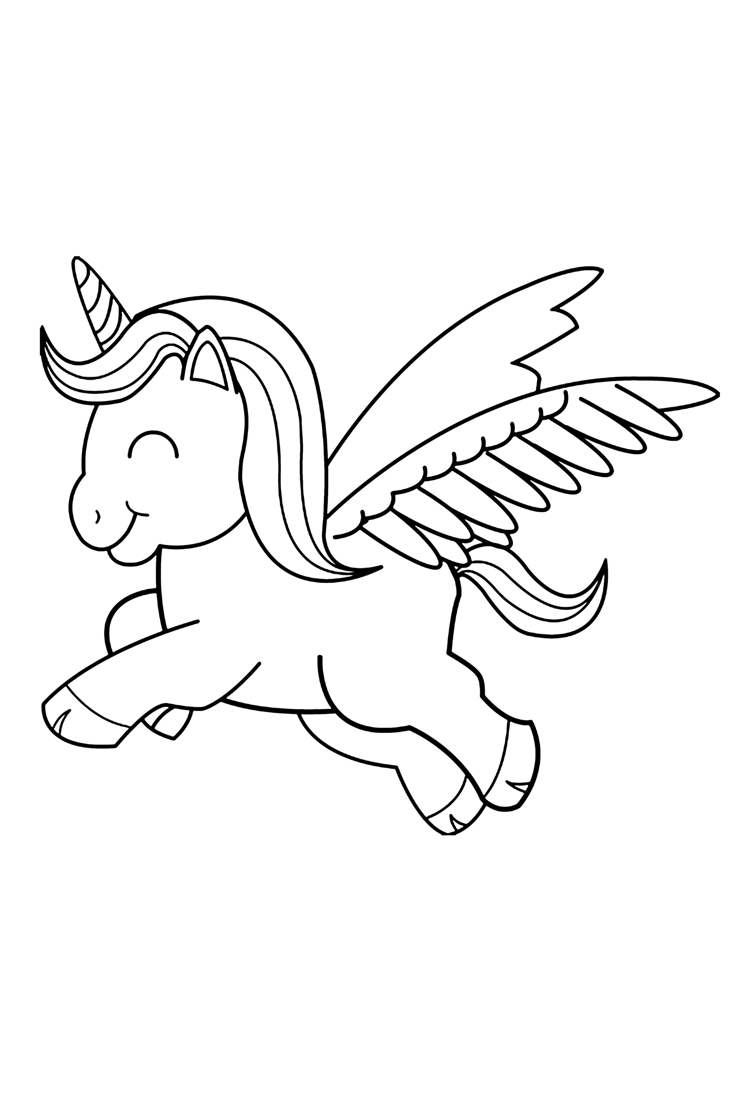 100 Unicorn Coloring Pages For Kids Unicorn Coloring Pages Coloring Pages Easy Coloring Pages