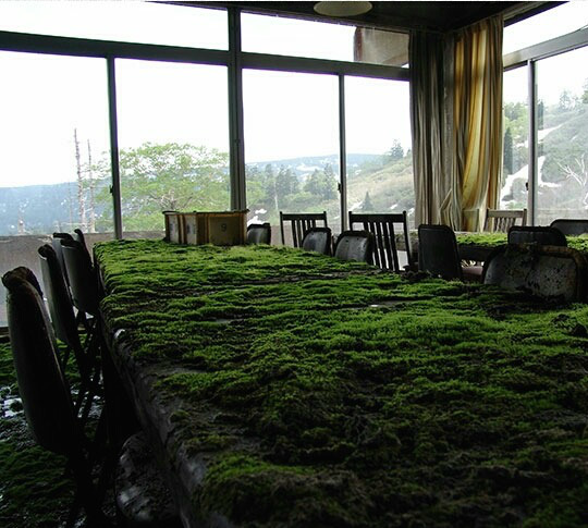 The View From An Abandoned Hotel In Japan