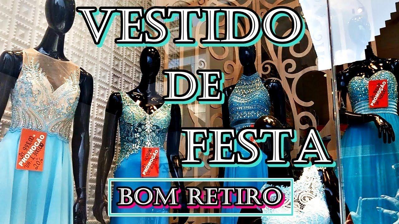Vestido De Festa No Bom Retiro Missao Azul Tiffany Vestidos