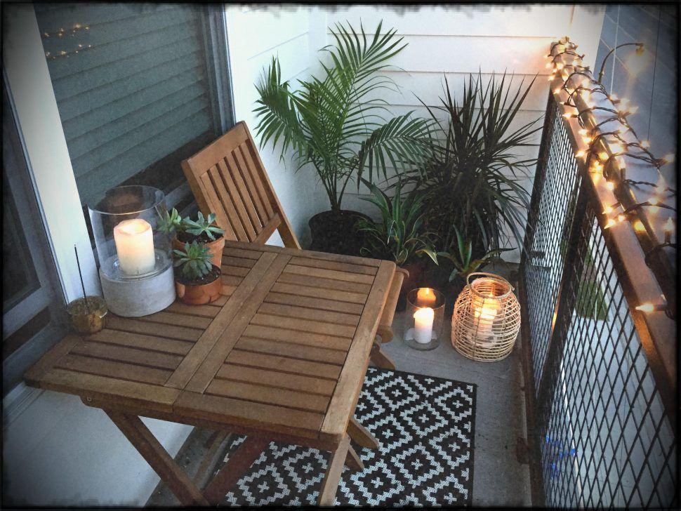 Outdoor Decor Small Balcony Garden