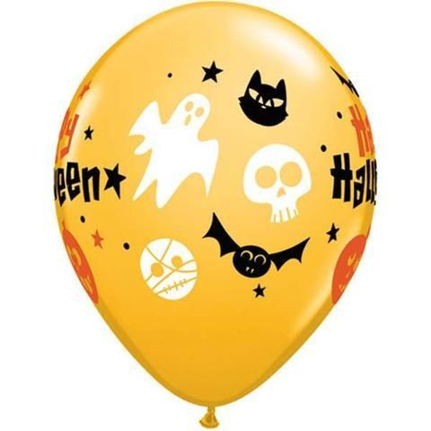 Qualatex Happy Halloween Fun Icons Balloon Halloween Party Theme