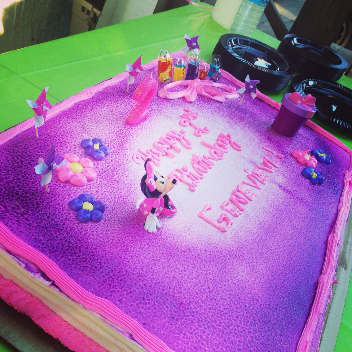 Excellent Pin On Genevieves Minnie Mouse Second Birthday Funny Birthday Cards Online Overcheapnameinfo