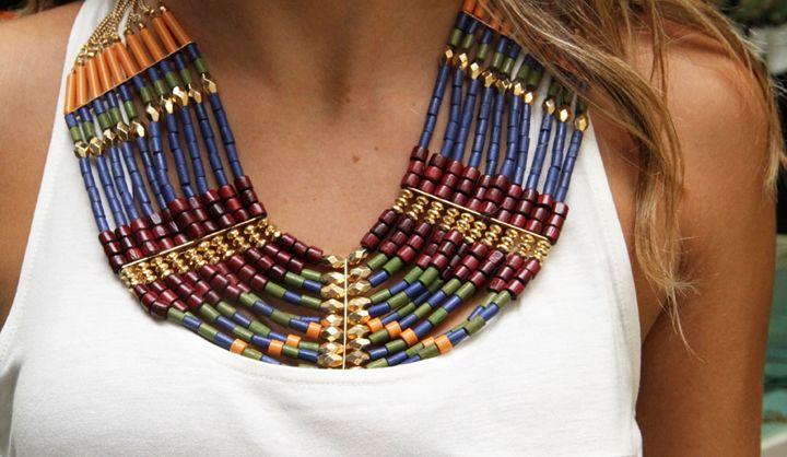 Más de 1000 imágenes sobre Collares en Pinterest