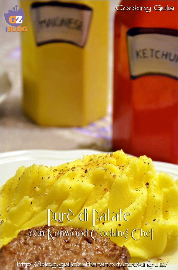 Purè di patate con Kenwood Cooking Chef | ricette Kenwood | Pinterest