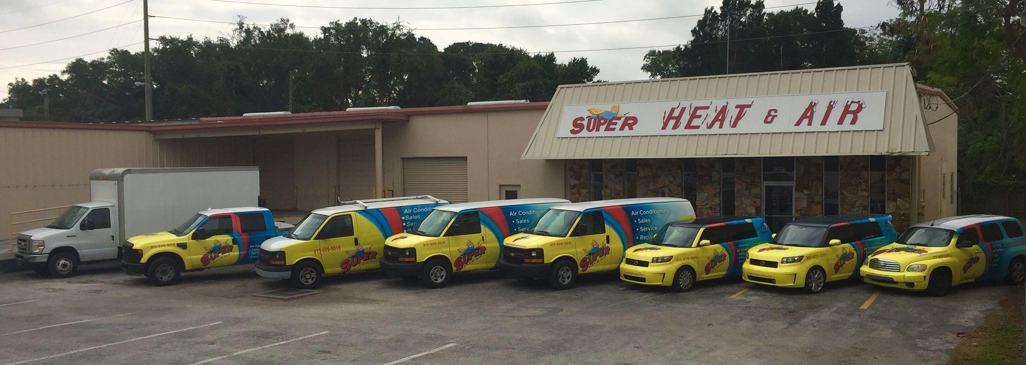 The Super Heat Fleet! Heating services, Heat, Fleet