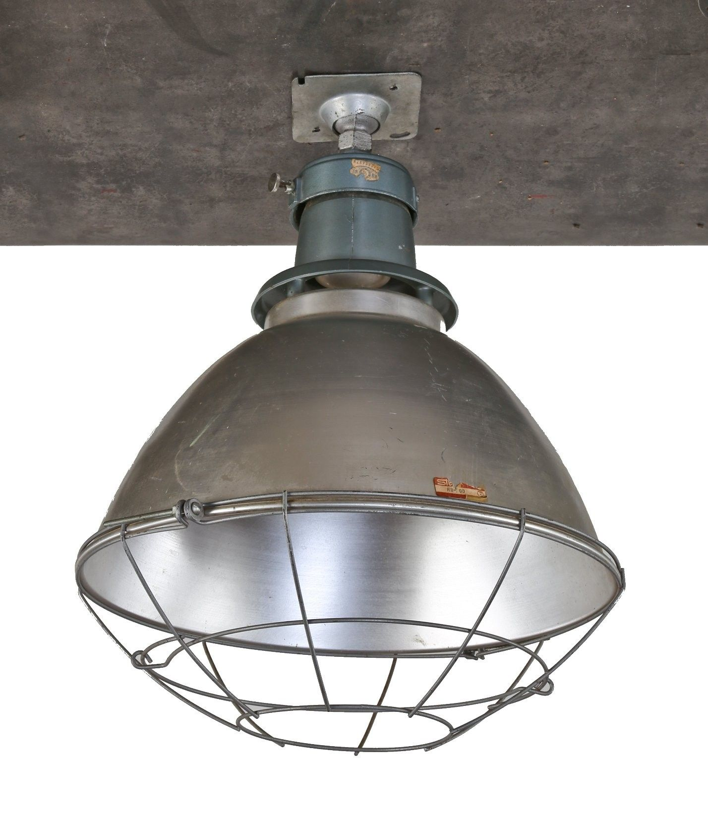 Single Oversized C 1950 S American Industrial Chicago Public School Gymnasium Deep Bowl Pendant Light W Vintage Industrial Lighting Bowl Pendant Pendant Light
