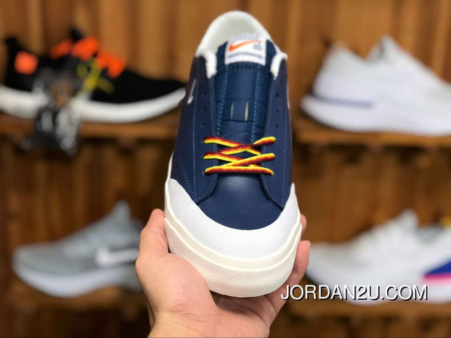 db14a1663a93 180 Nike SB ZOOM BLAZER LOW XT QS AQ3499 411 Women Men Blue Skateboarding  Shoes New