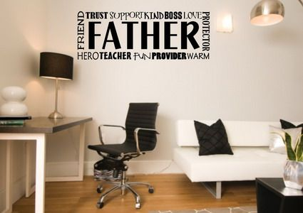 Family Love Quotes and Sayings Wall Decals for Boys Bedroom Wall ...