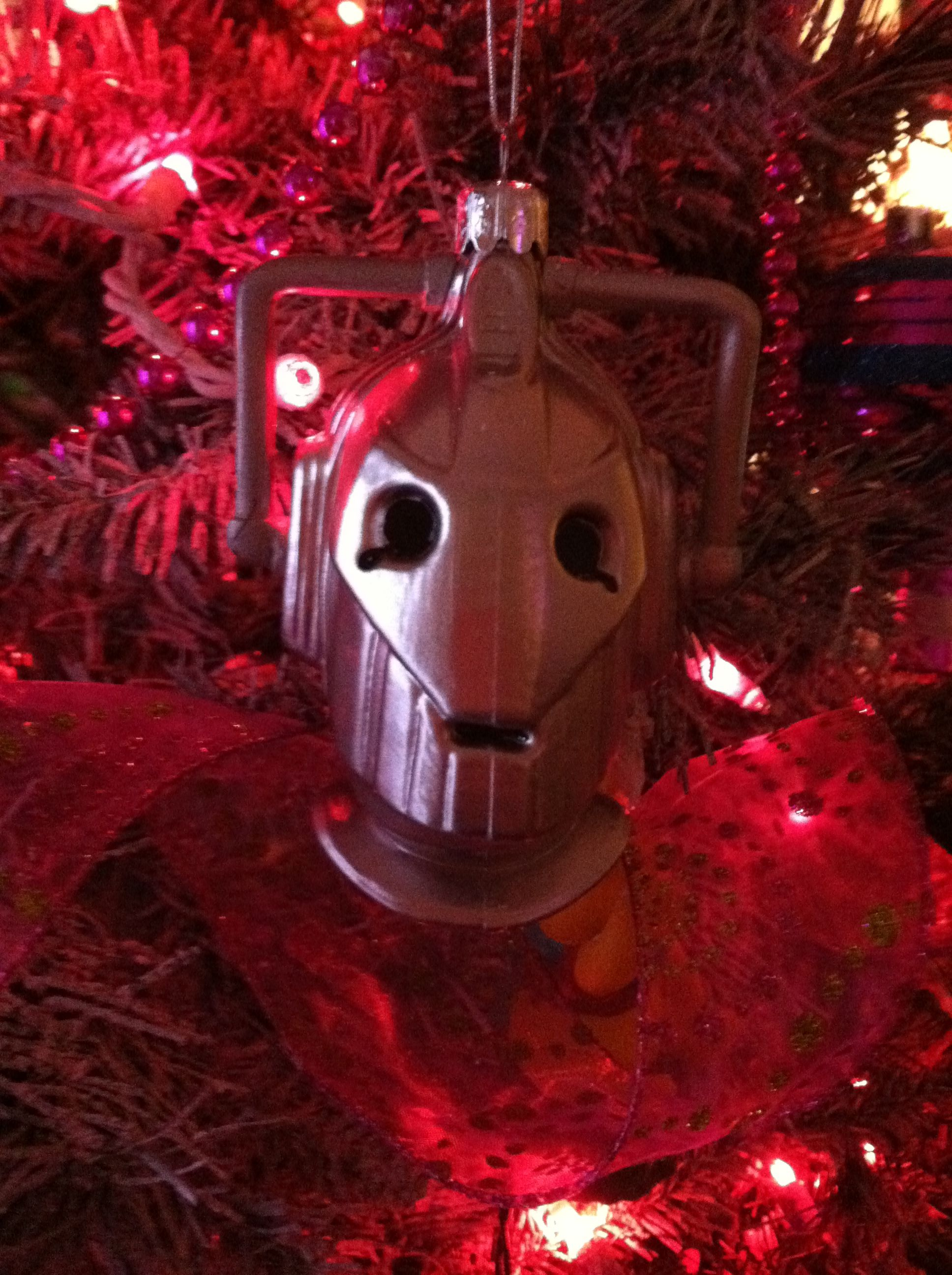 Doctor Who ornament Cyberman | Christmas ornaments ...