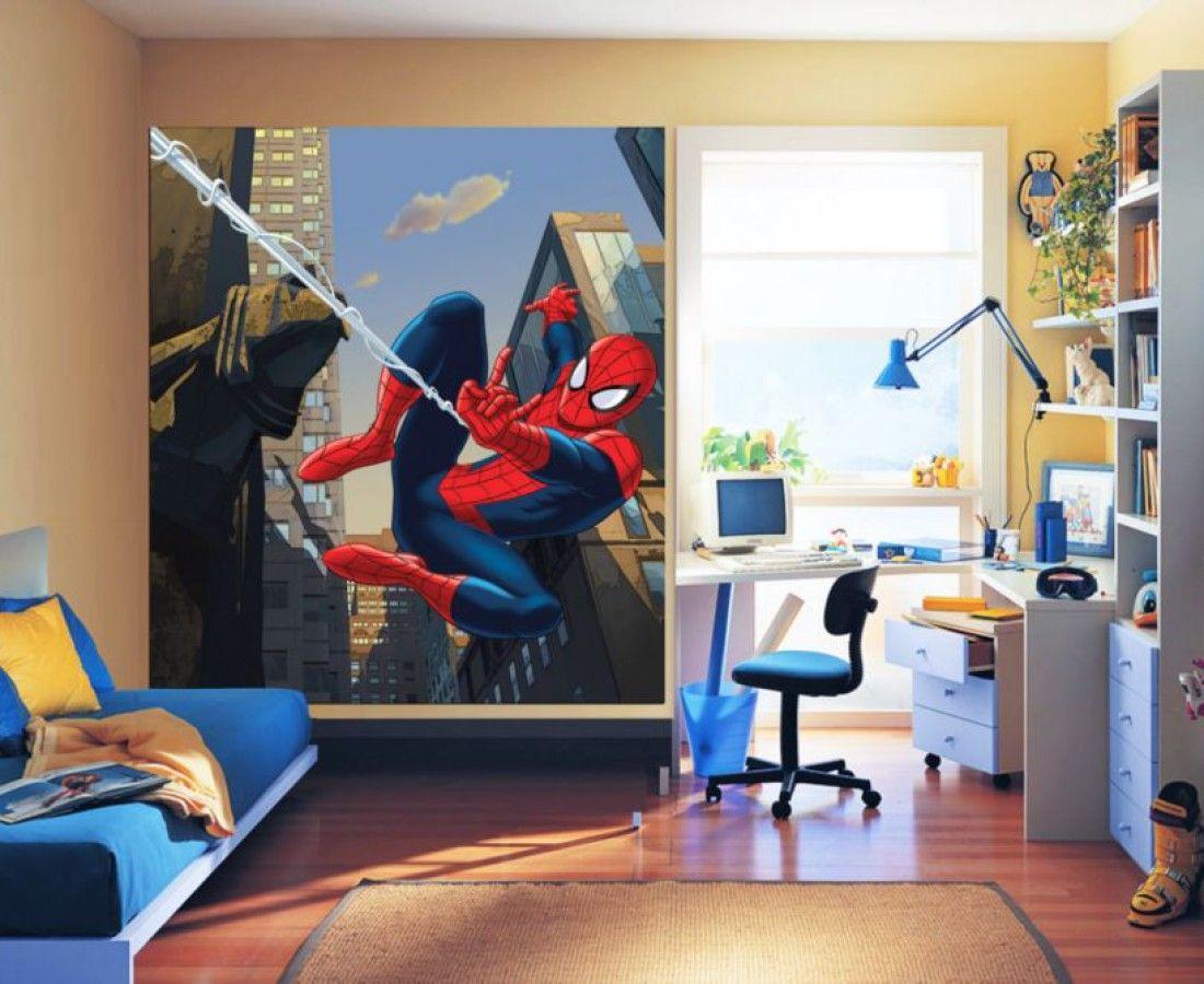 Spiderman Superhero Kids Wall Mural By WallandMore. Marvel ...