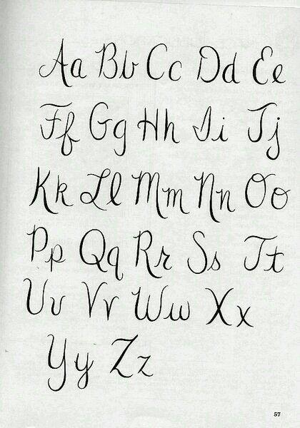 Letras Imagenes De Letras Tipos De Letras Tipos De Letras Abecedario