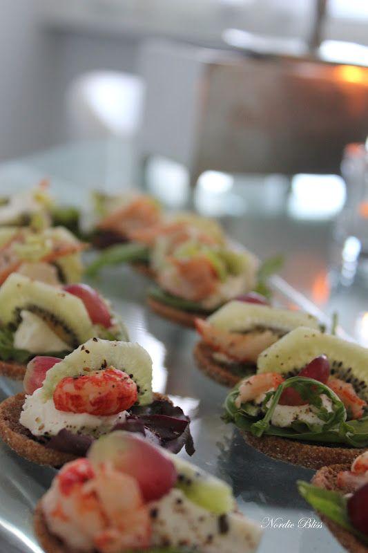 Klara Vappen! Kiwi & shrimps.