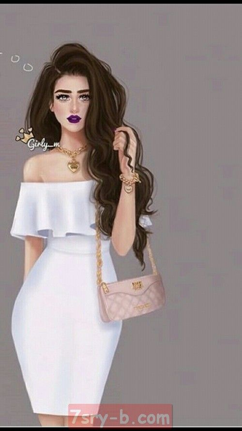 Pin By Angel Ouhanny On صور كشخة Beautiful Girl Drawing Lovely Girl Image Tall Girl Fashion