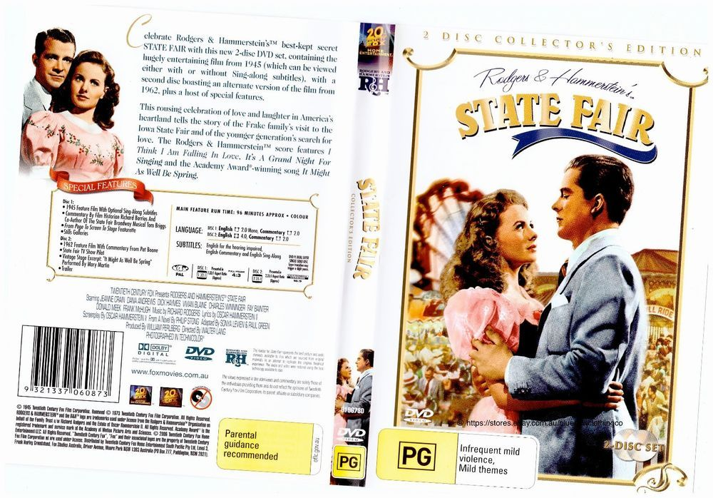 Check out state fair 2 disc collectors edition dvd r4
