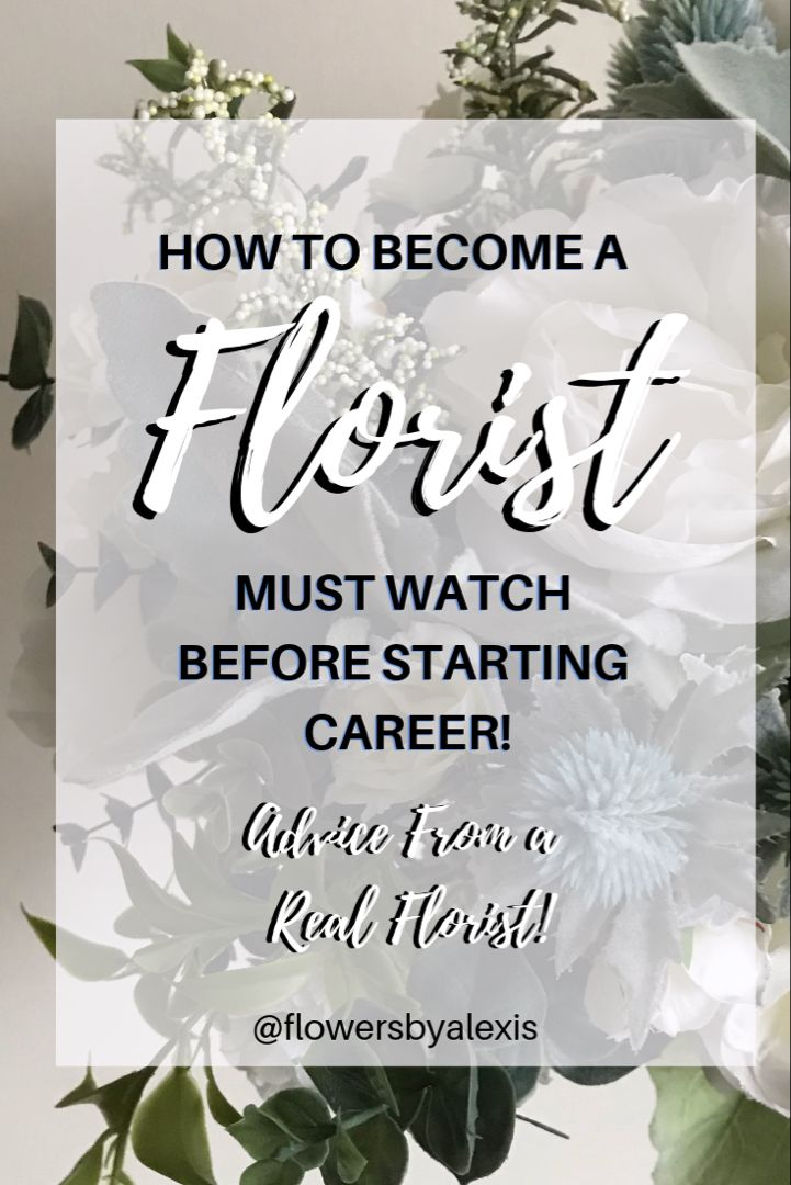 How to a florist is a must watch before a