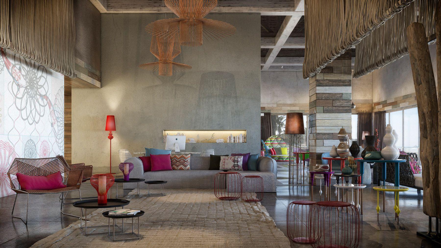 Bunt und üppig Home Interior Design-Ideen sehen so schön aus ...