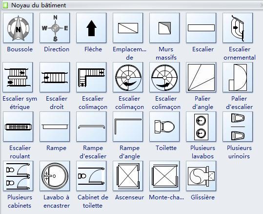 Symboles De Plan D Etage Etages Plan Architecte Urinoirs