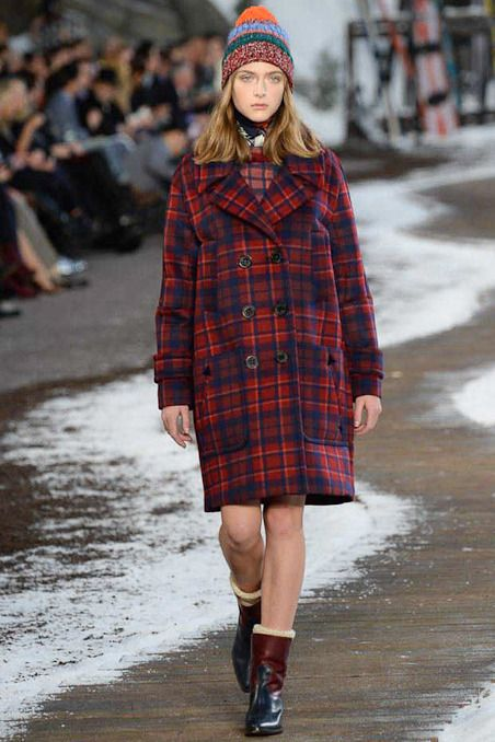 Tommy Hilfiger Fall 2014 RTW - Runway Photos - Fashion Week - Runway, Fashion Shows and Collections - Vogue