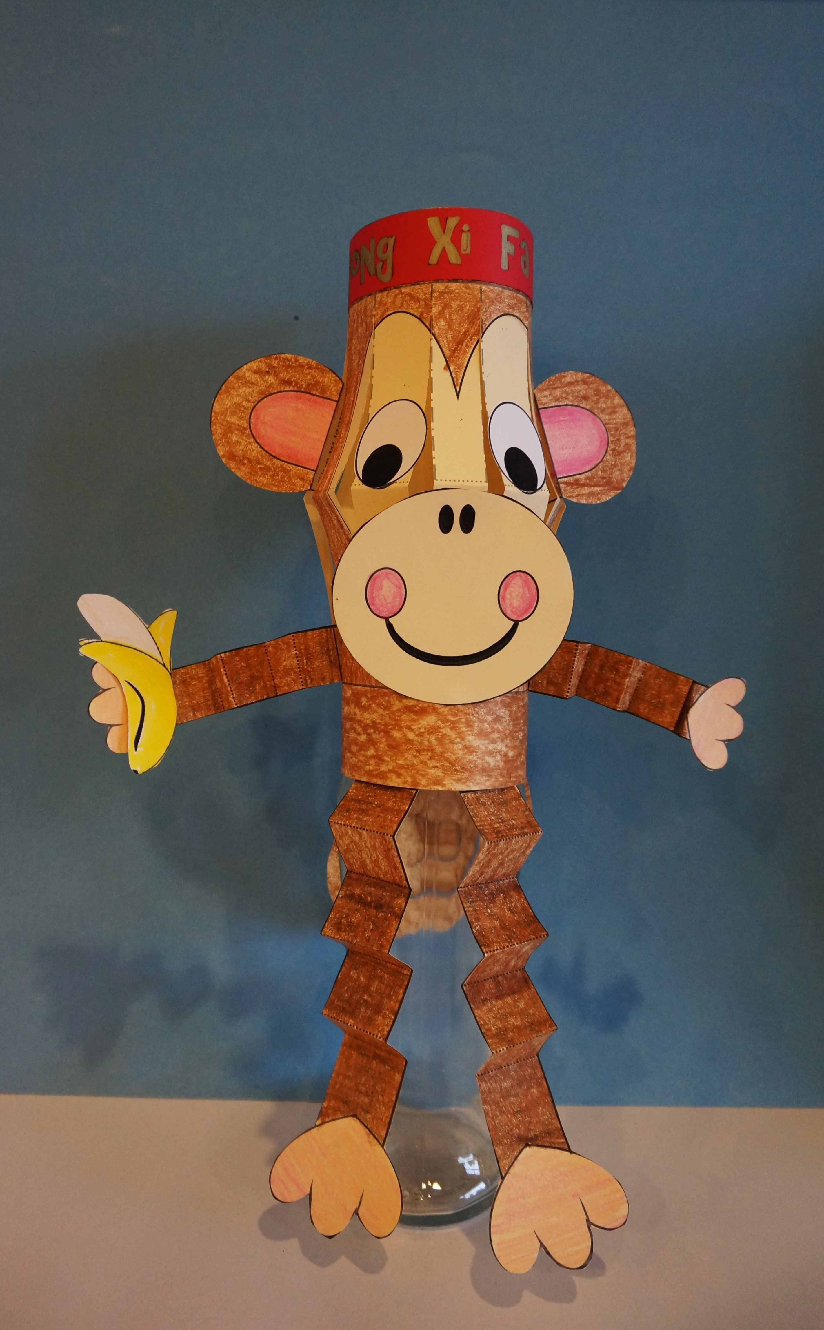 Monkey Craft :: Chinese New Year Craft :: Year of the ...