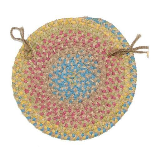 Botanical Isle Round Braided Chair Pad   Set Of 4 By COLONIAL MILLS. $59.00.