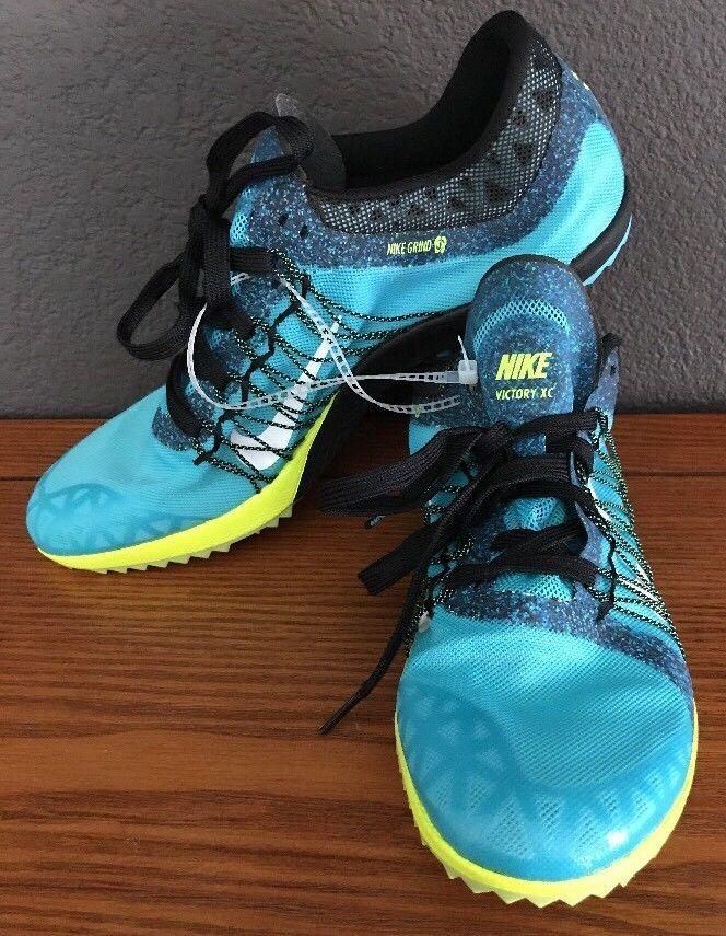 pretty nice e51b5 b6878 NEW Nike Zoom Victory XC 3 Sz 9.5 US Mens Flywire Track Shoes 654693-401  Spikes  eBay