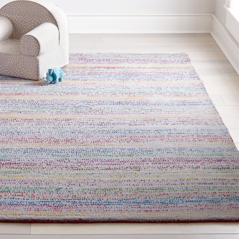 Tufted Rainbow Rug Our Rag