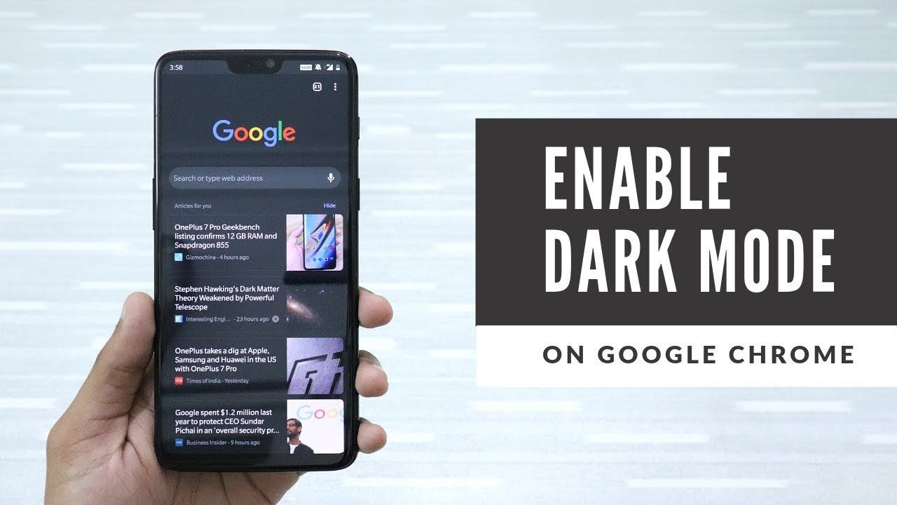 How To Enable Dark Mode in Google Chrome in 2019