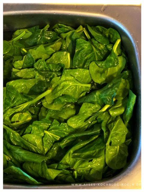 Leckere Spinatpfanne a la Jamie Oliver l bestes Rezept fuer Spinat l wie Spinat zubereiten #falldinnerrecipes