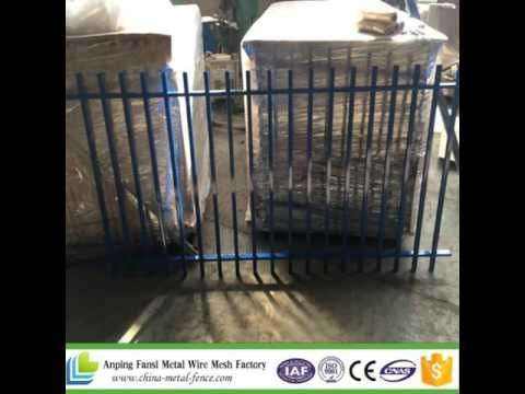 Powder coated pool fence 1.2x2.4m--sales2@china-metal-fence.com