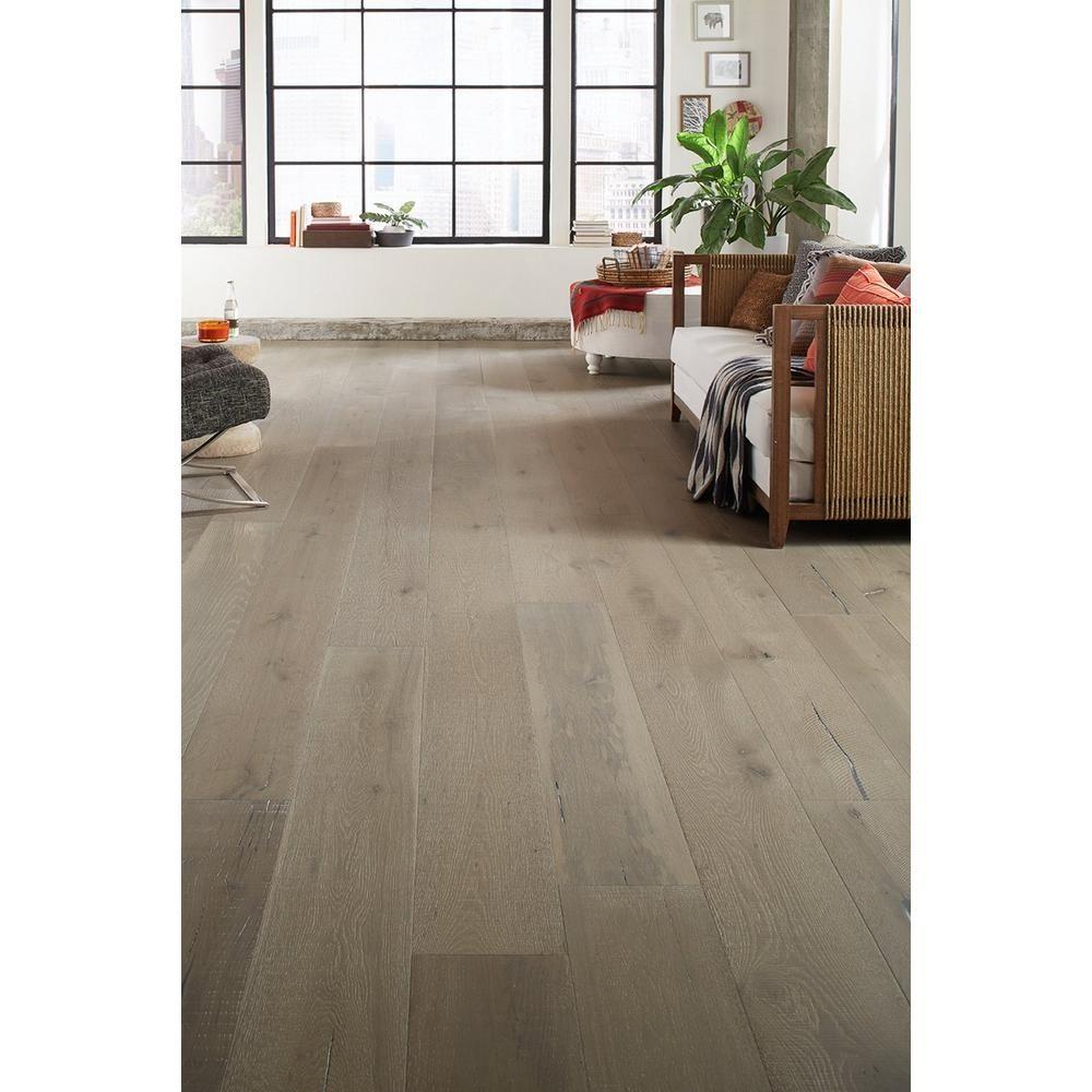 Perlino White Oak Distressed Engineered Hardwood XL Plank