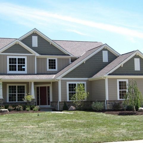 Two Tone Exterior Design Ideas Pictures Remodel And