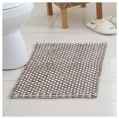 Attractive Modern Chenille Bath Rug Quick Dry Polyester Great