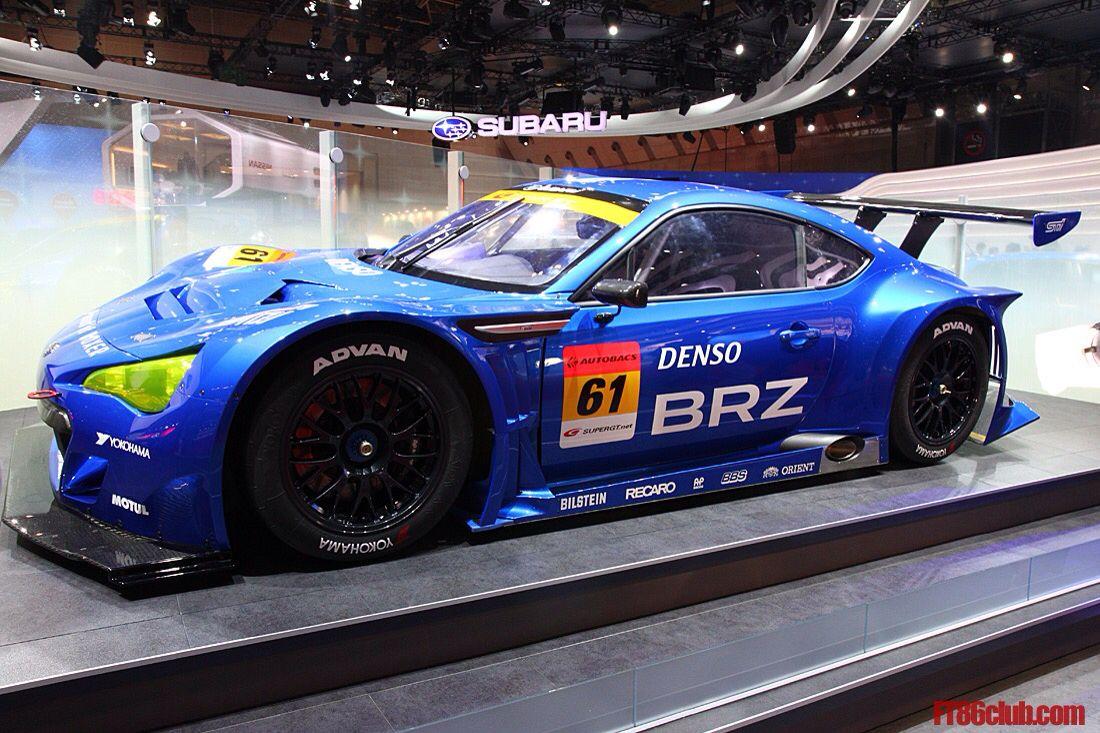 Marvel at this BRZ GT300's near 300 horsepower, 330 lb-ft of