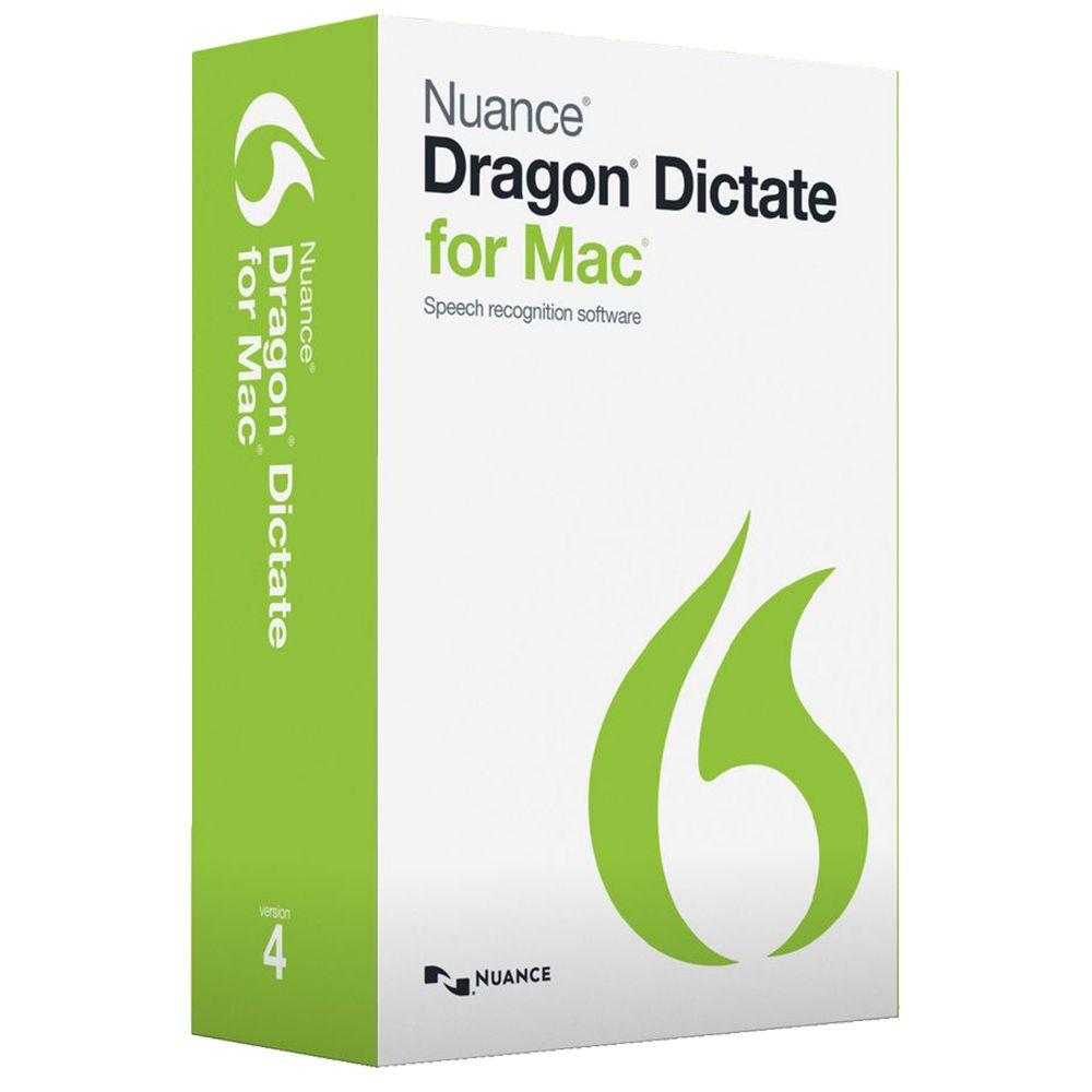Dragon Dictate for Mac Mac application, Speech