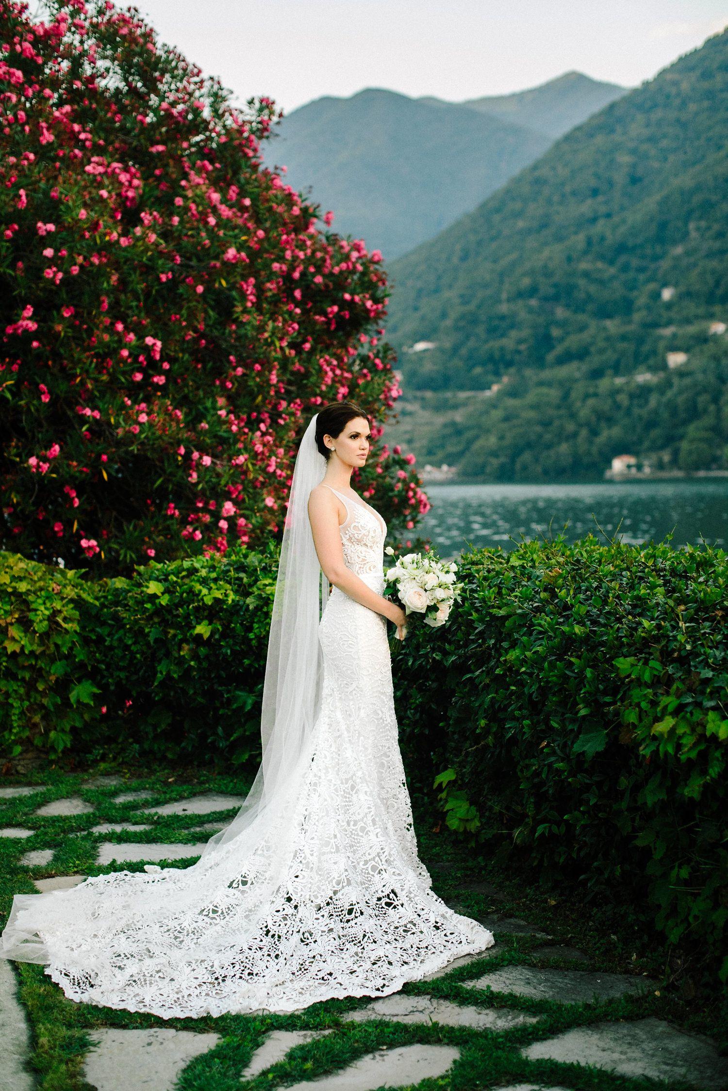 150044672172 Real Wedding  Lauren + Stefano    Italian Lakefront wedding in Lake ...