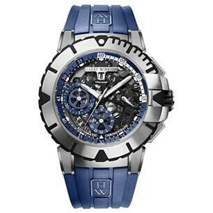 Harry Winston Ocean sport blue