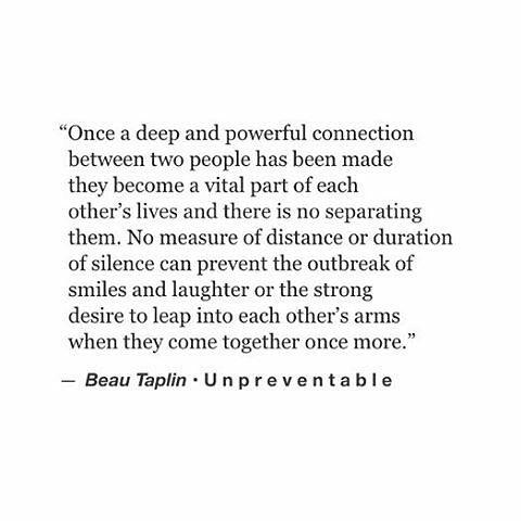 Truth Beautaplin Quote Love Connection Soul Deep Nodistance