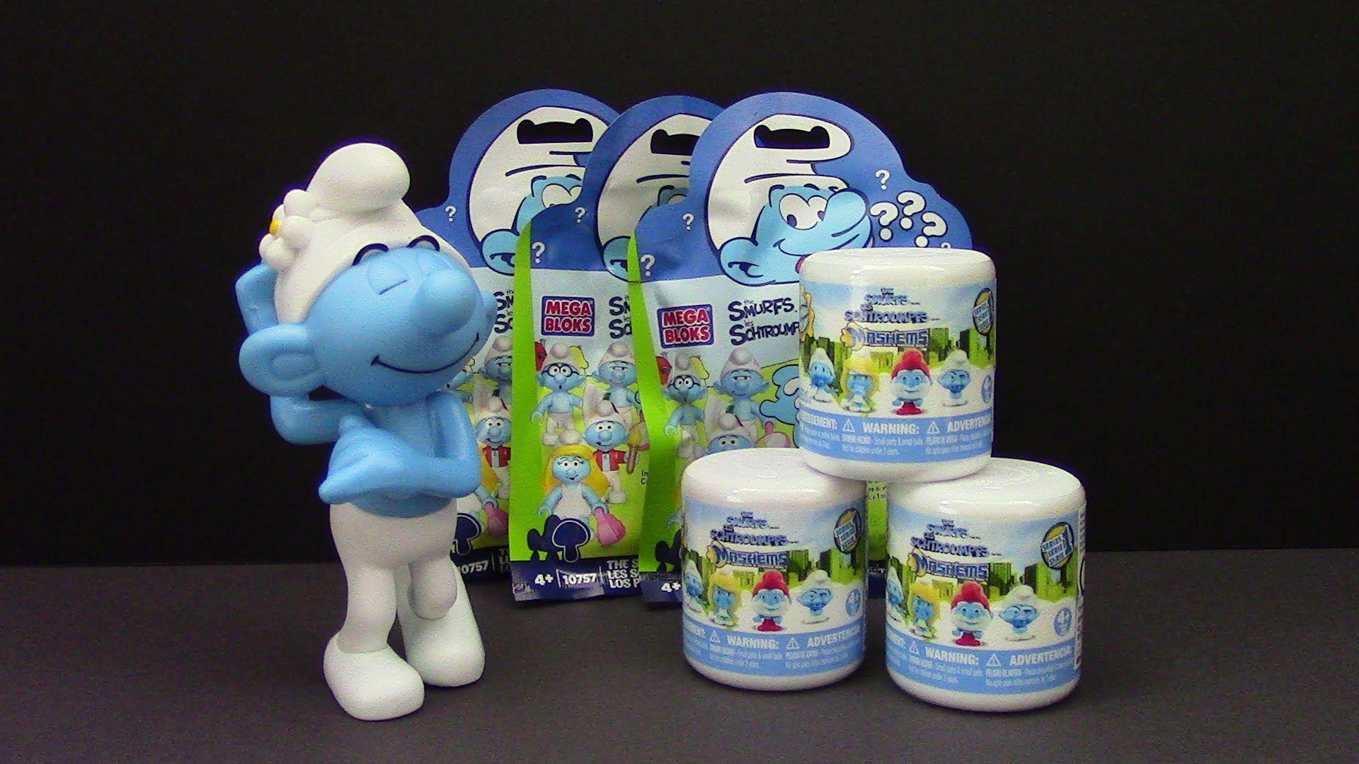 Smurf Fashems, MegaBloks SURPRISES BestToySurprises