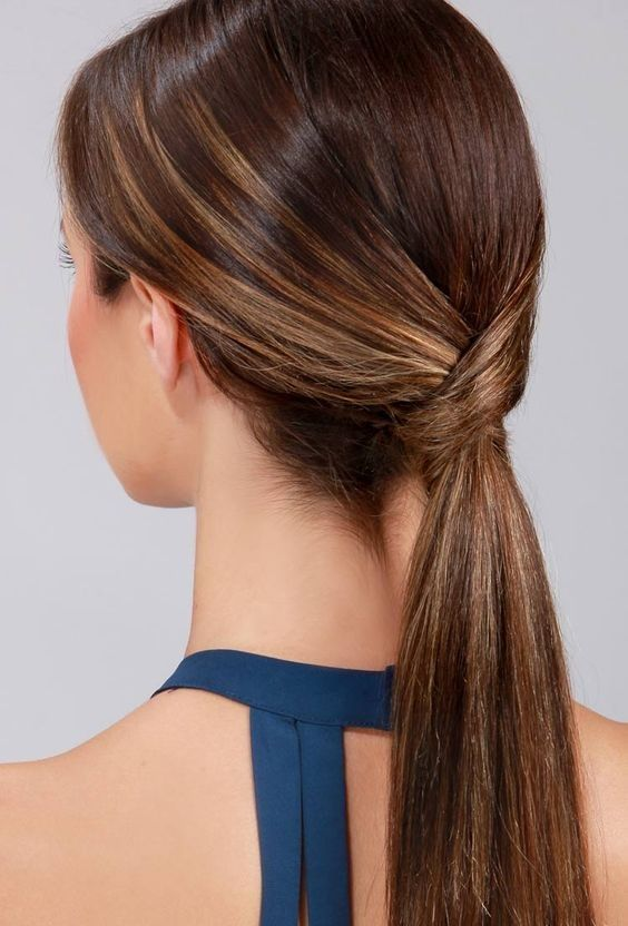 20 Chic Ponytail Inspirations For Busy Mornings Interview Hairstyles Hair Job Cute Ponytail Hairstyles
