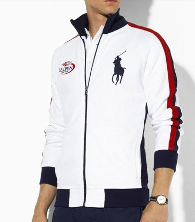 Cheap ralph lauren polo shirt, high-grade polo ralph lauren men jackets us  open full zip white rl-mag ralph lauren v neck tees complete in  specifications