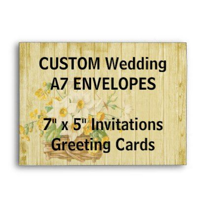 Custom A Envelopes  X  Invitations  Cards  Modern Gifts Cyo