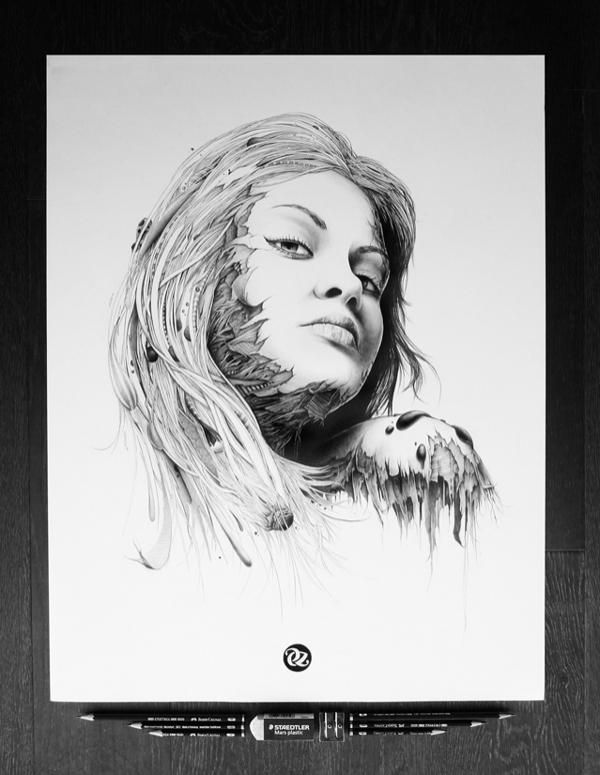Pencil drawings by pez art and design