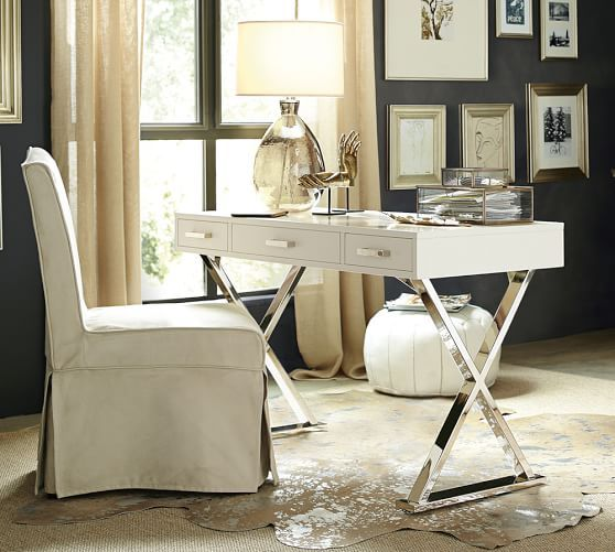 Callie Gl Desk Bo Pottery Barn Styling Of