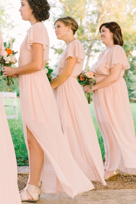 Texas Outdoor Wedding with Shades of Blush | Pinterest | Weddings ...