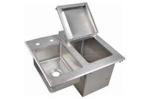 405 Bk Dibhl 2118 P Bk Resources Drop In Ice Bin Chest W Sink