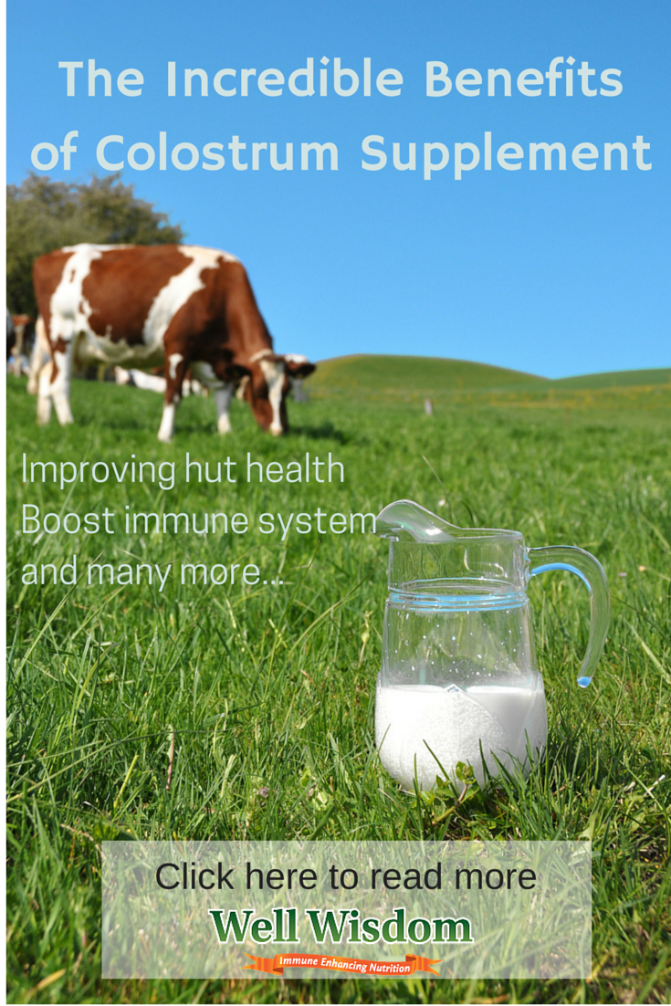 The Benefits of a Colostrum Supplement Health boost