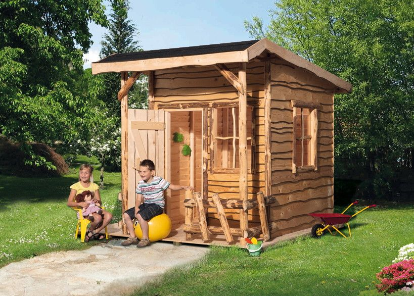 kinder holz spielhaus weka mecki abenteuerhaus. Black Bedroom Furniture Sets. Home Design Ideas