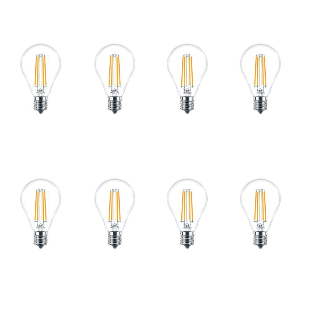 Philips 60 Watt Equivalent A15 Dimmable Led Light Bulb Soft White